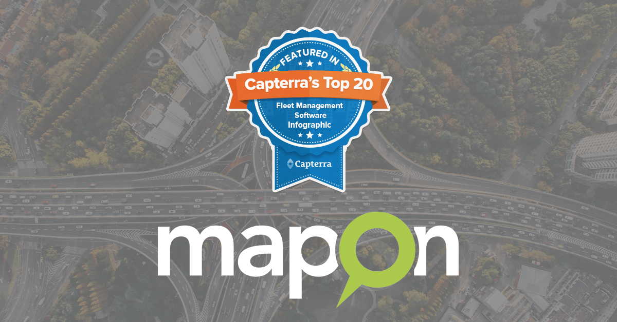 Mapon and Capterra Fleet Management Software