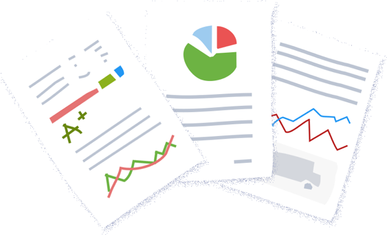 Powerful reports - use your data smart.