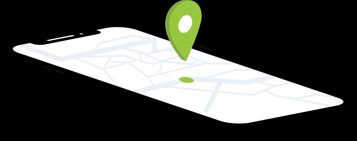 Reāllaika GPS atrašanās vietas izsekošana