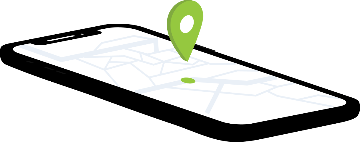 Realtime GPS-locatie