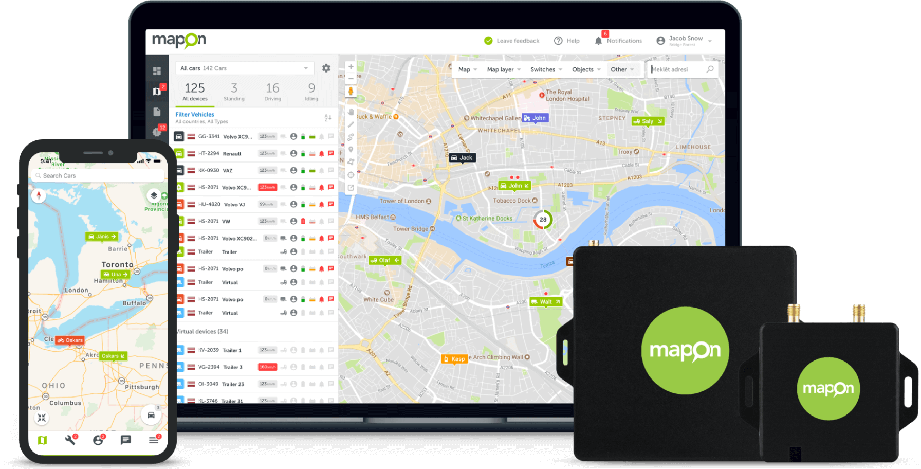 Fleet Management and Asset Tracking Software and Hardware